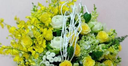 Dịch vụ điện hoa tươi tiện lợi tại shop hoa tươi quận Gò Vấp