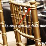 Cách phân biệt ghế Chiavari thật và giả