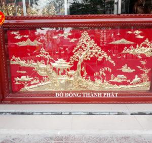 Địa chỉ bán tranh đồng quê mạ vàng tại hà nội đẹp, giá thành rẻ