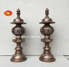 Bí quyết đặt đèn đồng thờ cúng trên bàn thờ rước tài rước lộc