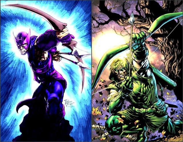 20 cặp đôi nhân vật nổi tiếng giống nhau đến kỳ lạ của Marvel và DC (P.1)